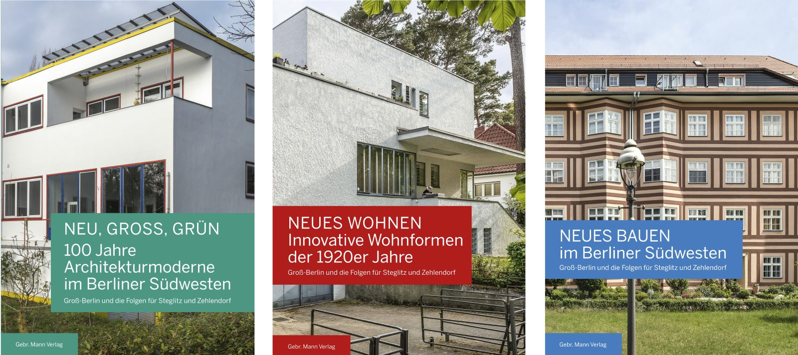 Abbildung der drei Publikations-Cover