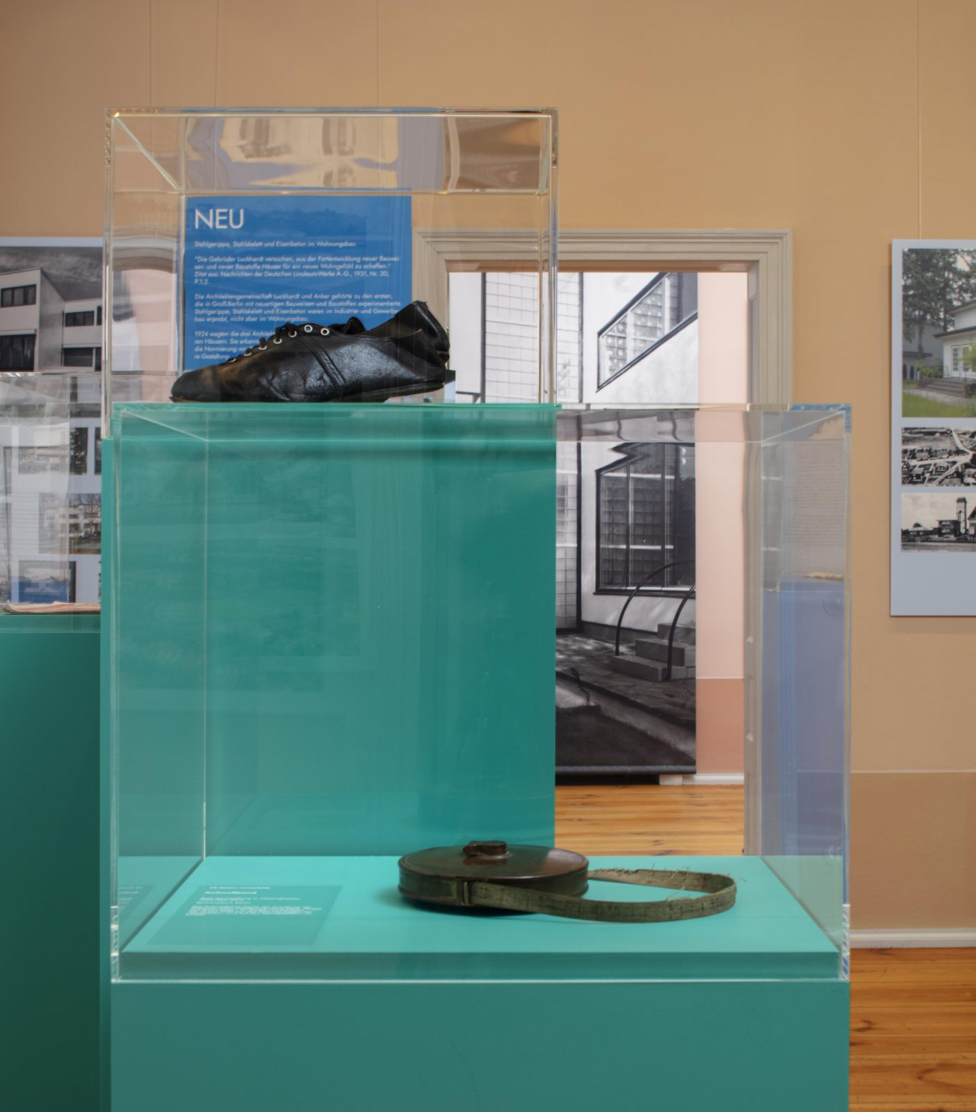 Blick in die Ausstellung NEU GROSS GRÜN, Team Best 2020